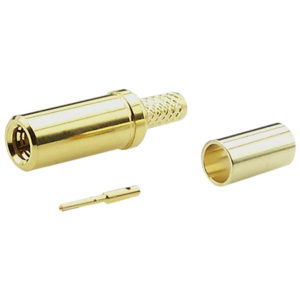 Straight RF Connector Gold Plated