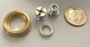Screw Machine Parts, Machined Brass and Aluminum, Lathe Parts, CNC Parts, Machine Parts