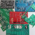 Printed Circuit Board. PCB. Multi-Layer, Rigid